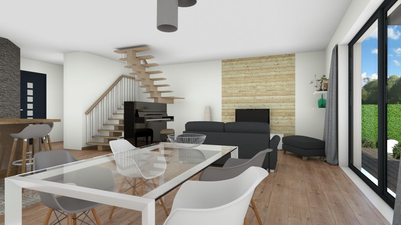 Nouveaute belle maison moderne blanquefort constructeur de maisons bordeaux - Belles maisons bordeaux ...