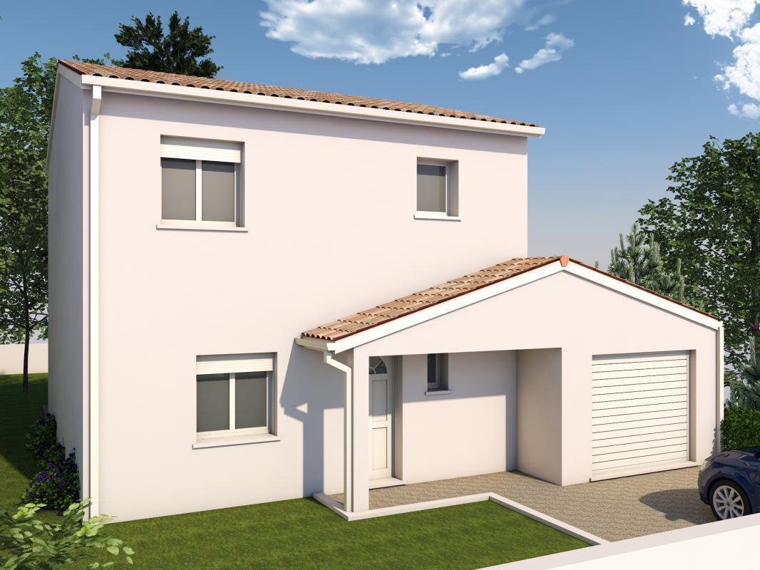 maison de type 4 constructeur de maisons toulouse. Black Bedroom Furniture Sets. Home Design Ideas