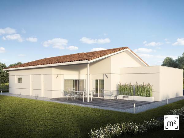 Maison neuve aiguillon constructeur de maisons agen for Constructeur de maison neuve