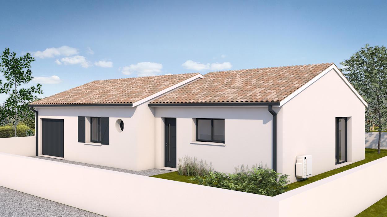 Bordeaux maison etage 90m constructeur de maisons for Bordeaux logement