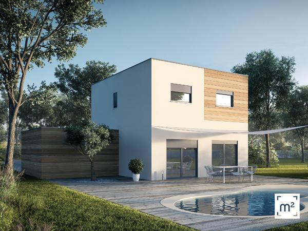 Belle maison de plain pied cussac fort medoc for Constructeur maison bordeaux