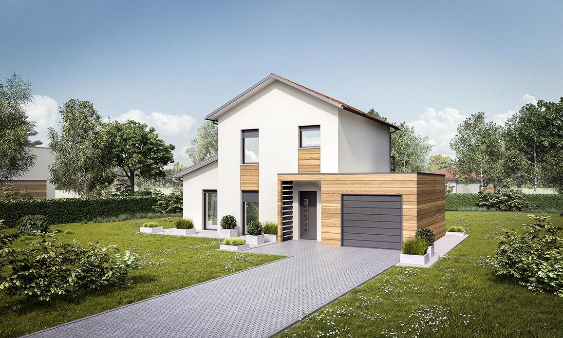 villenave d 39 o maison 100 m 4 chambres constructeur de. Black Bedroom Furniture Sets. Home Design Ideas