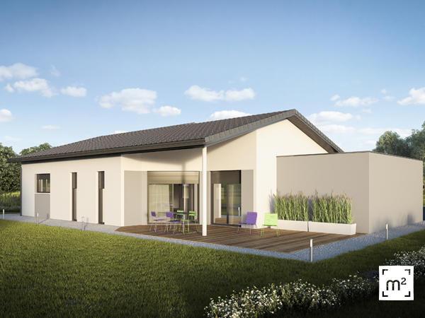 Maison neuve 3 chambres au calme constructeur de maisons for Maison neuve constructeur
