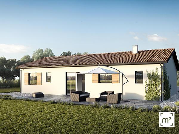 maison moderne 3 chambres constructeur de maisons toulouse. Black Bedroom Furniture Sets. Home Design Ideas