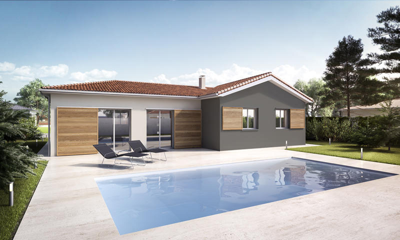 maison neuve 3 chambres aux portes de bordeaux. Black Bedroom Furniture Sets. Home Design Ideas