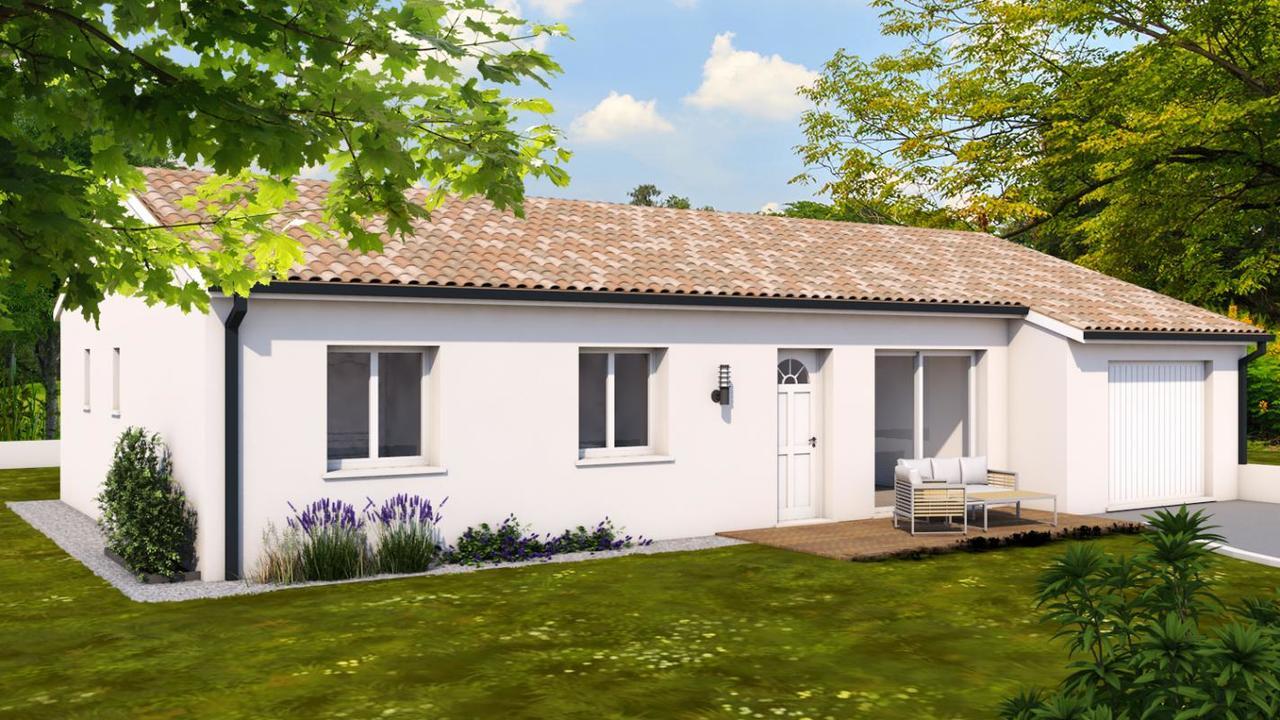 Plan Maison Plain Pied Toulouse : Maison plain pied t constructeur de maisons toulouse