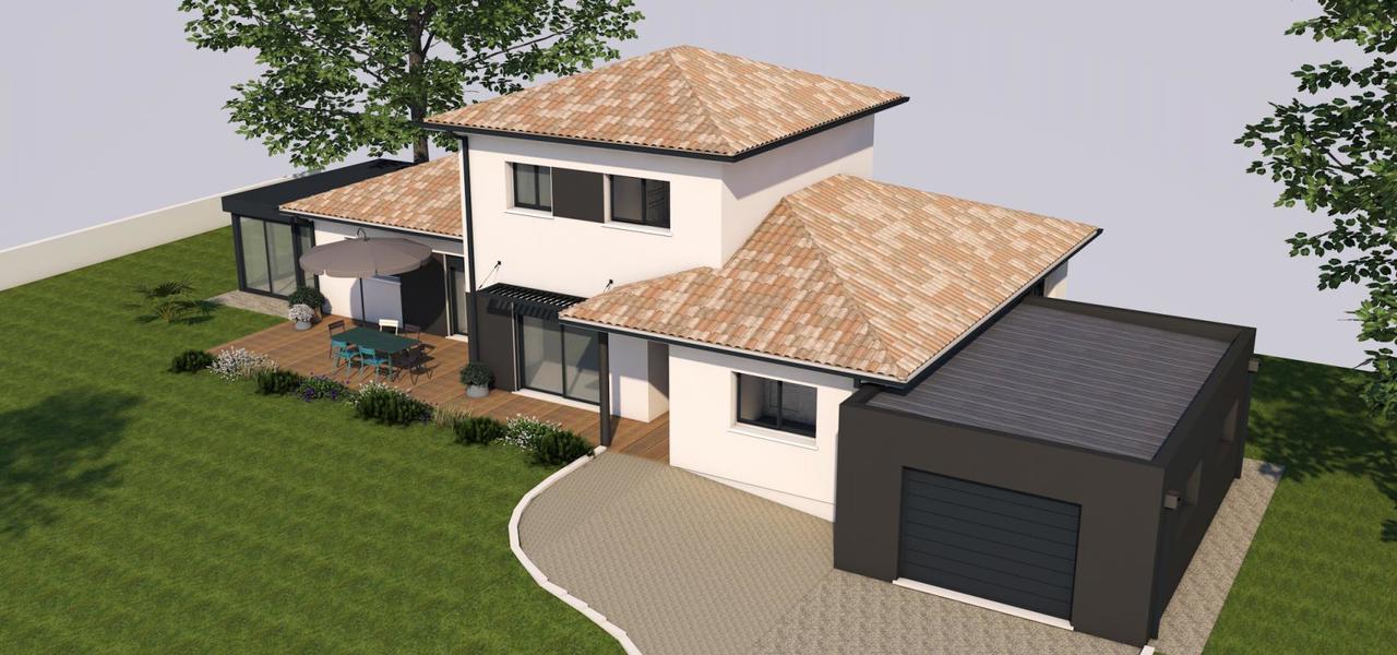 Maison neuve sur sous sol constructeur de maisons agen for Maison neuve constructeur