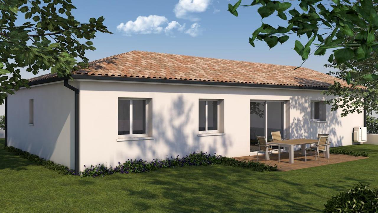 Maison t5 constructeur de maisons toulouse for Constructeur maison 37