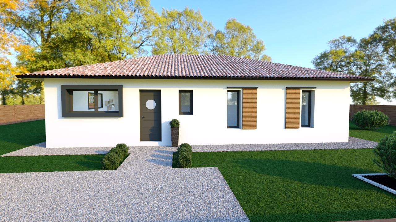 A proximit du bassin d 39 arcachon maison 3 chambres for Constructeur maison bordeaux