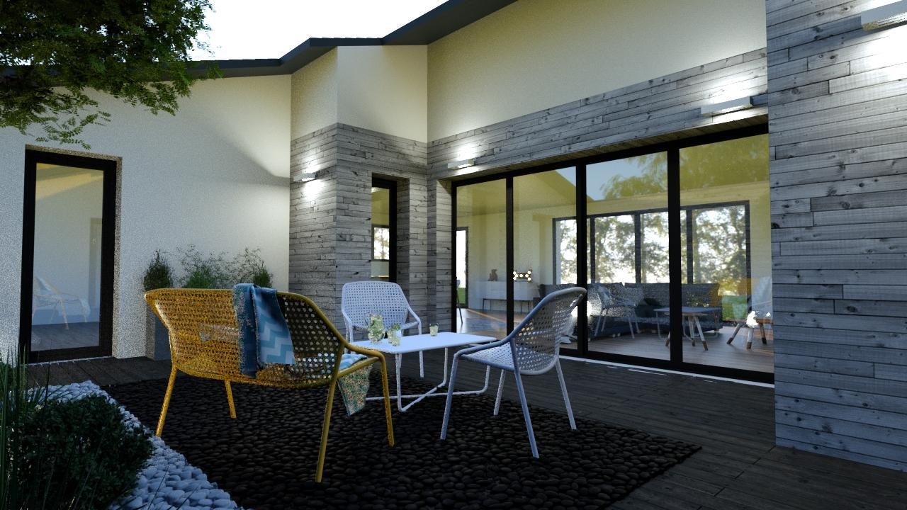 maison de plain pied avec suite parentale constructeur. Black Bedroom Furniture Sets. Home Design Ideas