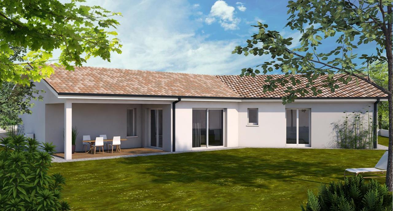maison t5 contemporaine 120m salles constructeur de. Black Bedroom Furniture Sets. Home Design Ideas