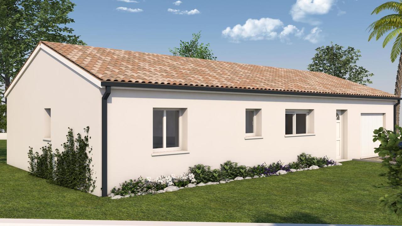 Projet maison t4 constructeur de maisons toulouse for Projet maison