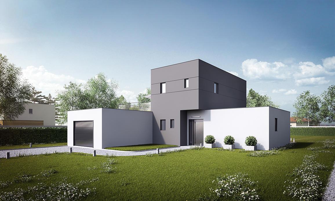 Projet de construction : la maisons tera, une maison contemporaine ...