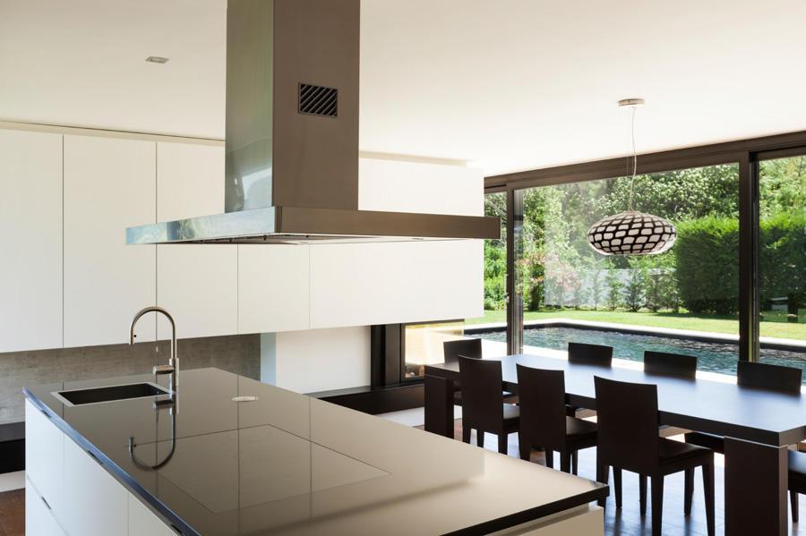 Plan de maison contemporaine a toiture plate - Extra cuisine toulouse ...