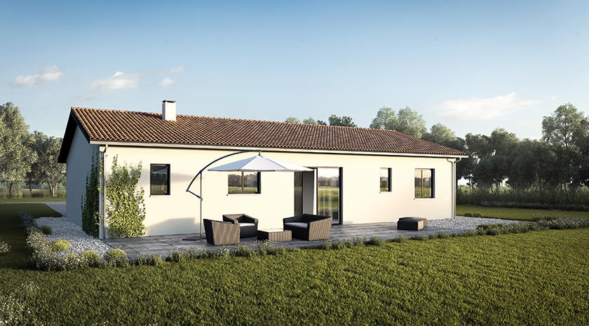 Nano Une Maison Plain Pied Fonctionnelle Et Accueillante Constructeur De Maisons M Tre Carr