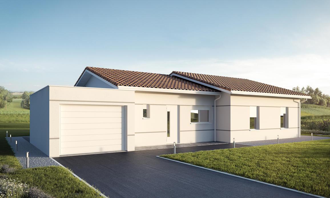 Terrasse couverte moderne terrasse couverte moderne with for Prix metre carre maison neuve