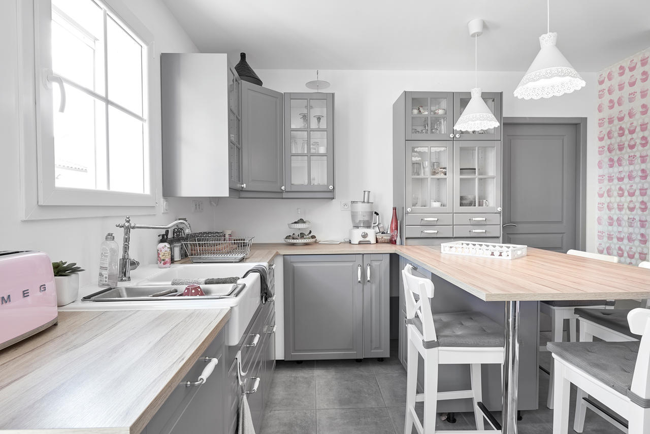 Une agr able maison tage de 120m2 constructeur de for Cuisine style cosy