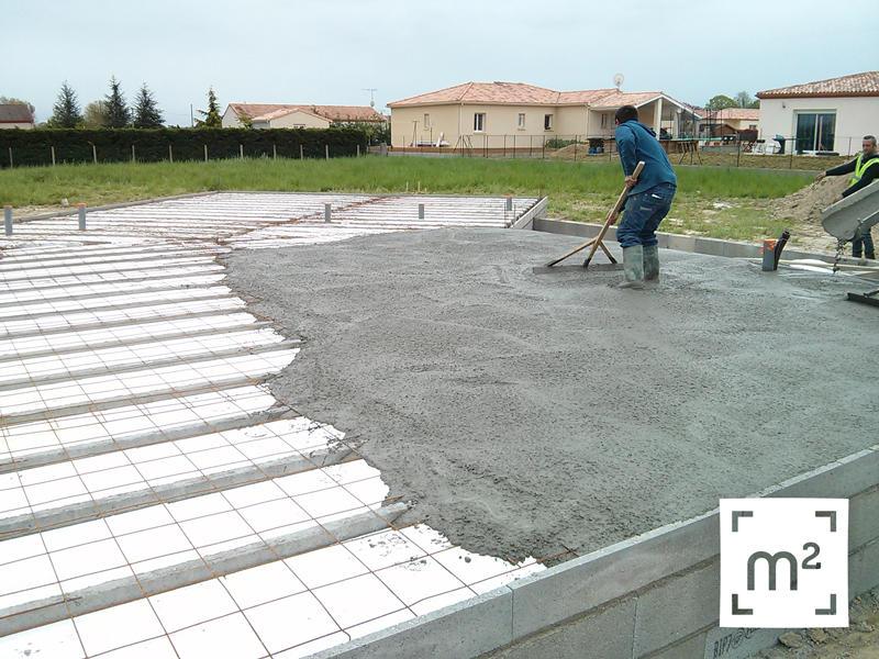 Maison neuve nouveau chantier m tre carr brax lot et garonne constructur de maisons for Prix du metre carre de construction neuve