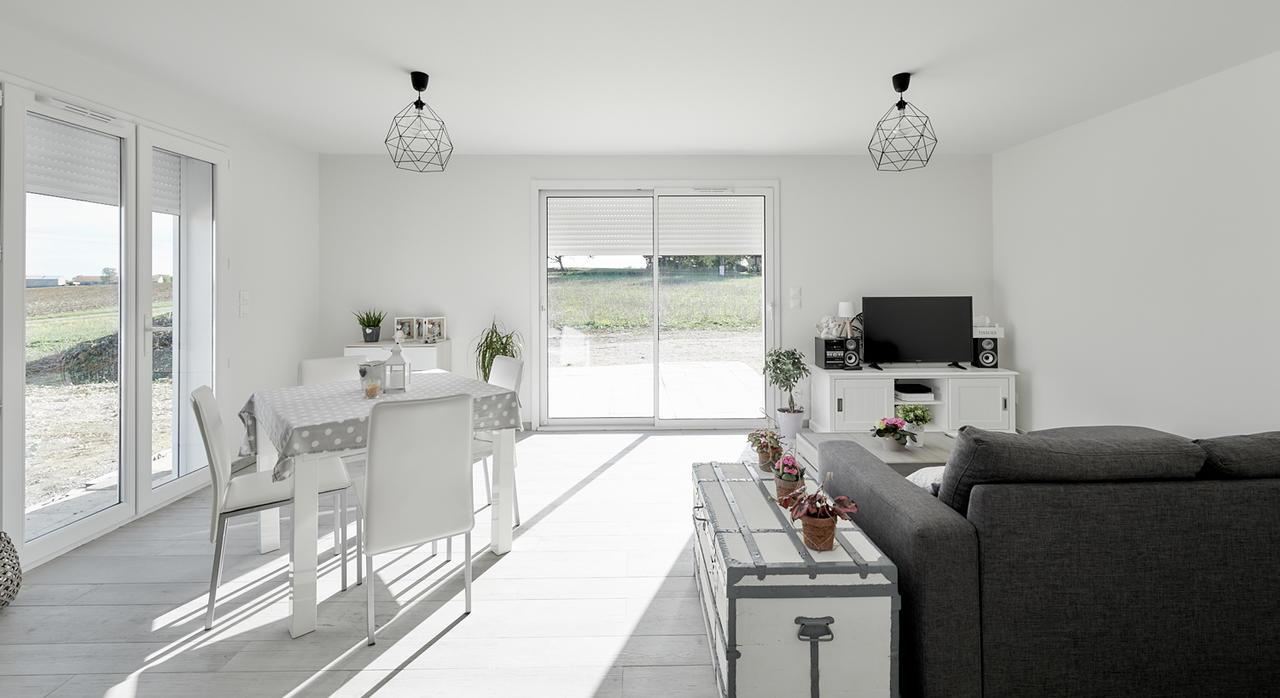 une premi re maison de 80m2 habitables constructeur m tre carr. Black Bedroom Furniture Sets. Home Design Ideas