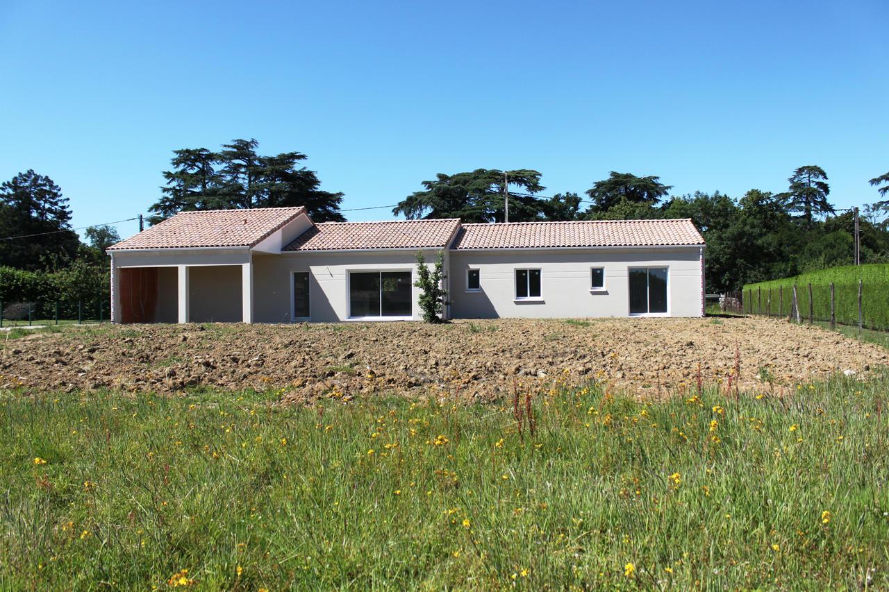 Une maison familiale de 170m2 constructeur carr agen for Maison familiale toulouse