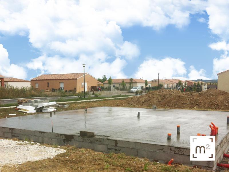 Les tapes du chantier de brax constructeur de maisons m tre carr - Prix metre carre dalle beton ...