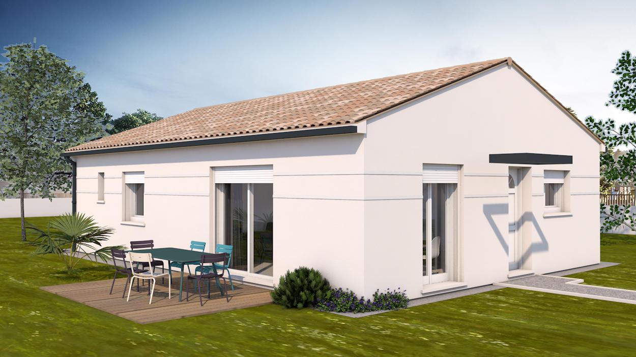 Une premi re maison de 80m2 habitables constructeur for Prix metre carre construction maison