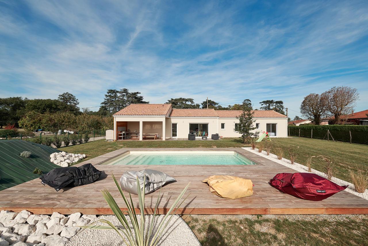 Une Maison Familiale De 170m2 Constructeur Carre Agen Bordeaux Et Toulouse