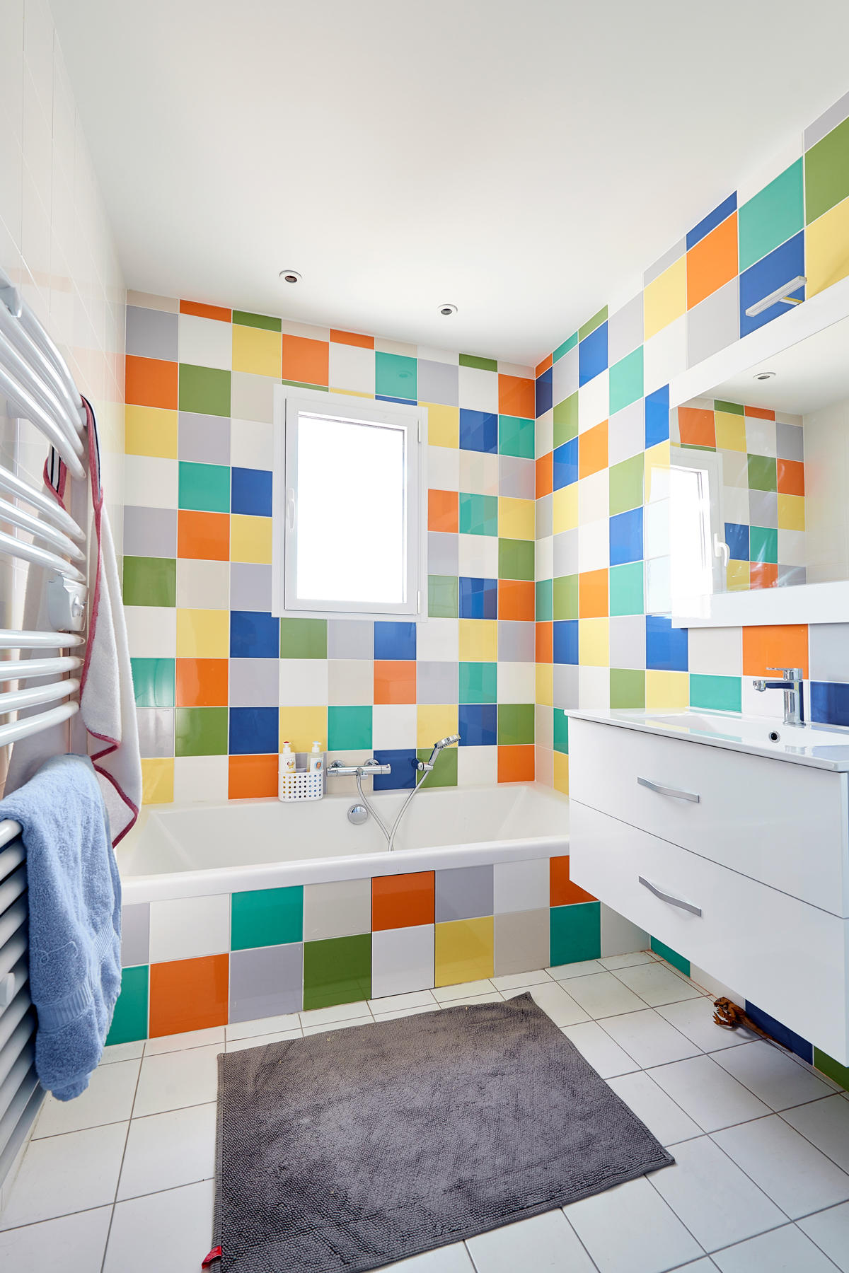 Best Salle De Bain Enfant Coloree Images - House Design ...