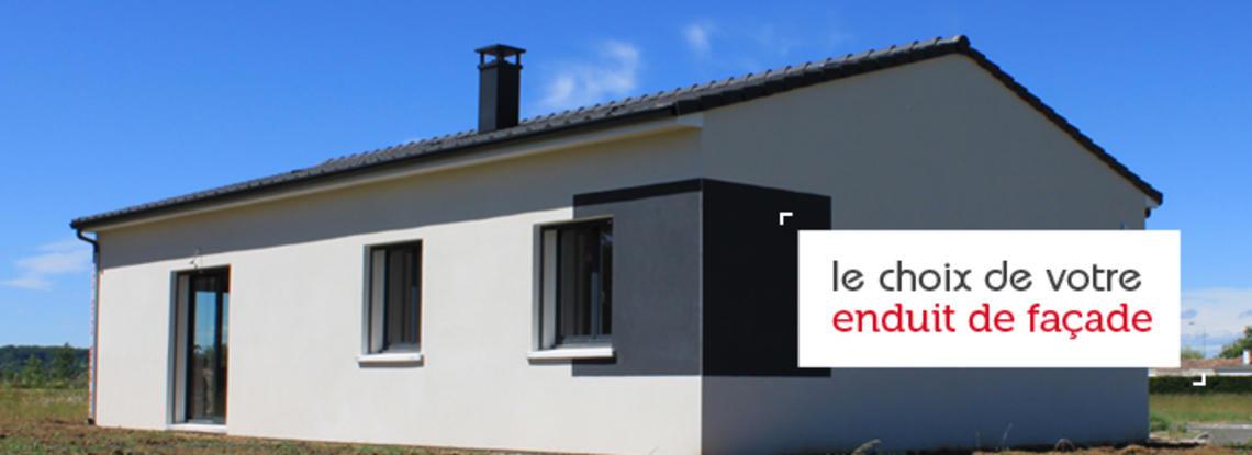 les finitions de votre chantier tout savoir sur l 39 enduit de fa ade constructeur de maisons. Black Bedroom Furniture Sets. Home Design Ideas