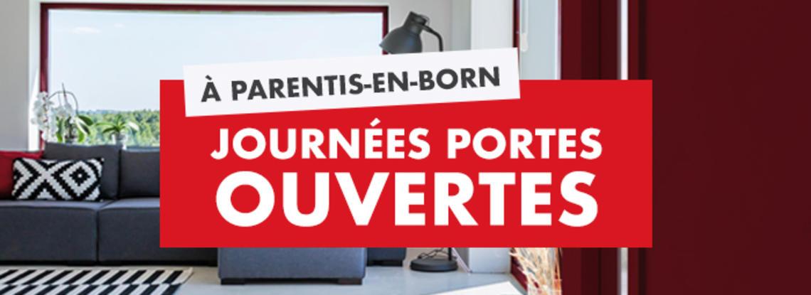 Journées Portes ouvertes à Parentis-en-Born - Constructeur Mètre Carré