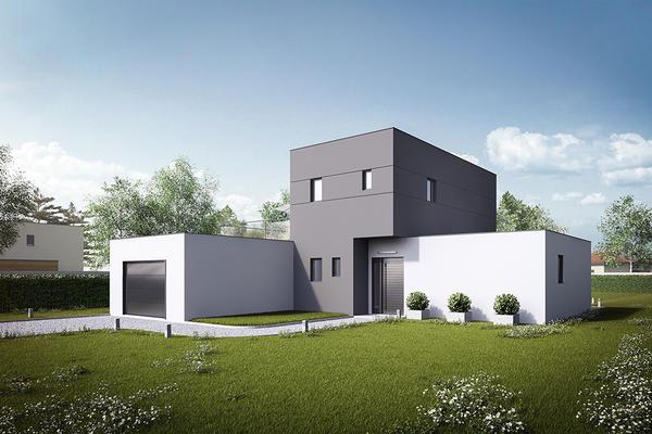 Faire construire une maison contemporaine Mètre Carré Agen Bordeaux Toulouse