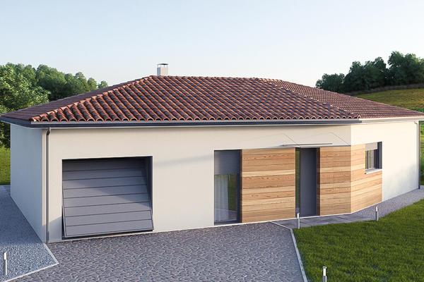 Modèle en V - Maisons Mètre Carré Agen Bordeaux et Toulouse