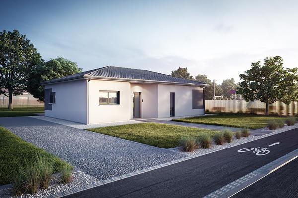 Maison Mètre Carré :: modèle de maison doit