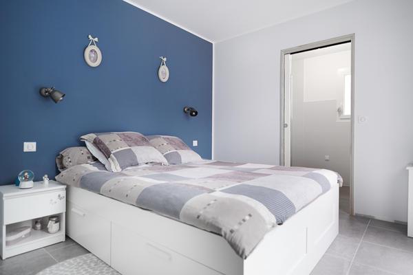 Chambre parentale - Maison neuve projet de construction Bordeaux Mètre Carré