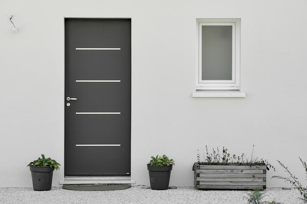 Porte d'entrée - Constructeur de maisons Mètre Carré Bordeaux