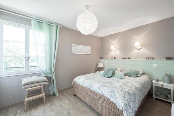 Chambre parentale cosy - Maison sur-mesure Mètre Carré Agen Bordeaux et Toulouse