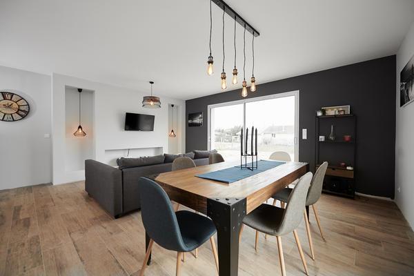 Niches décoratives salons - Projet de construction Mètre Carré Constructeur Bordeaux
