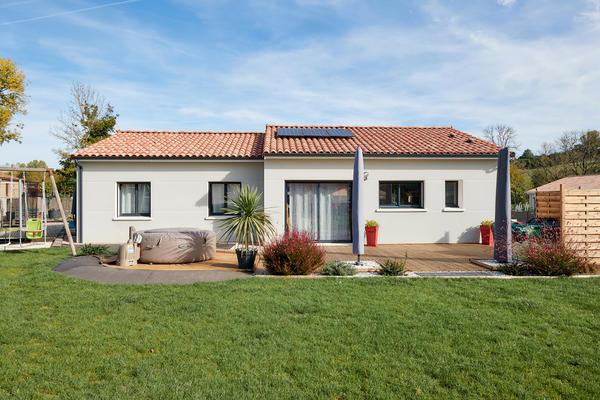 Maison neuve & aménagements extérieurs - Constructeur Agen Bordeaux Toulouse