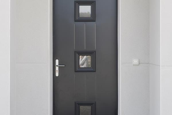 Maison neuve porte entrée déco - Constructeur Agen Bordeaux Toulouse