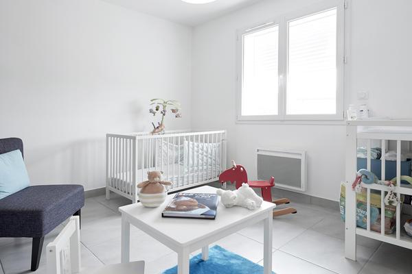 Chambre bébé - Construction maisons individuelles Agen Bordeaux et Toulouse