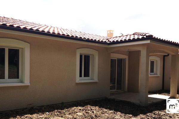 Construction maison Mètre Carré : terrasse couverte