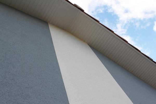 Enduit bicolore - Construction neuve Mètre Carré - Construction Agen Bordeaux et Toulouse