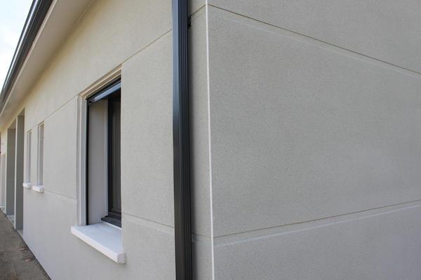 Double rainurage et menuiseries anthracites - Projet de construction - Constructeur Agen Bordeaux Toulouse