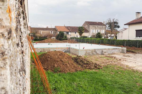 Fondation Construction Mètre Carré