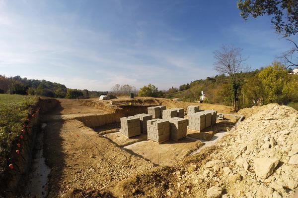 Démarrage du chantier Mètre Carré près d'Agen
