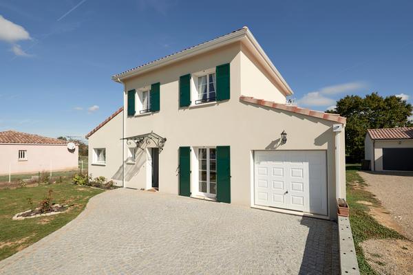 Maison à étage archi personnalisée - Projet de construction Mètre Carré Agen Bordeaux et Toulouse
