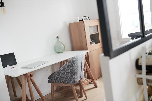 Bureau avec verrière - projet de construction Mètre Carré Beychac et caillau