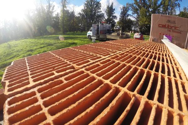 Construction RT2012, brique de nouvelle génération à résistance thermique R = 1,50 m².K/W