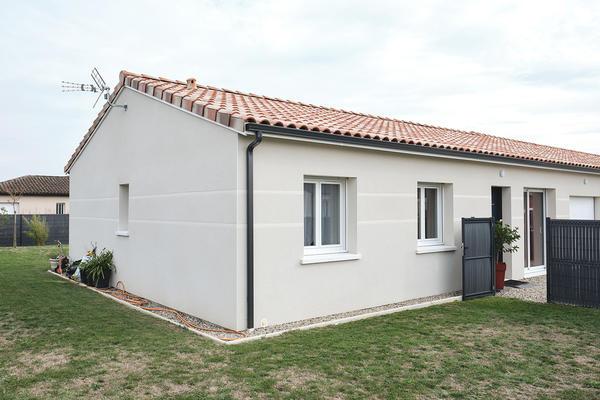 Double rainurage maison moderne neuve Mètre Carré