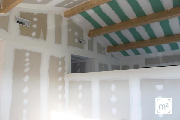 Murs de refends et équipements intérieurs : Mètre Carré